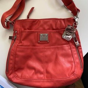Tyler Rodan Coral Colored Hobo Bag